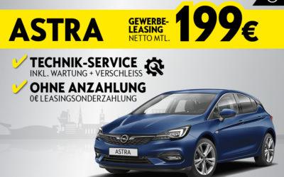 Der Opel Astra