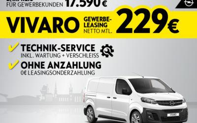Der Opel Vivaro