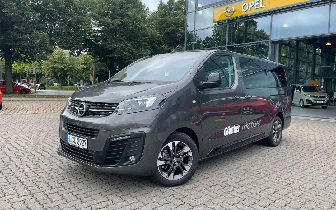 Opel Zafira Life Tourer L 3. Sitzreihe AHK Panorama